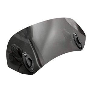 TOOGOO Clip RéGlable sur Le DéFlecteur de Vent Spoiler Extension Pare-Brise pour Moto (Noir)
