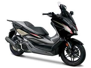 Uniracing K47493 Kit de décoration Honda Forza 125/300 '19, Noir
