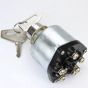 Phil-Trade® de tracteur Mini pelle pelle d'allumage Antivol 2Clés 6contacts