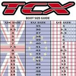 9661 – TCX Comp EVO Michelin Motocross Boots 43 Red/White (UK 9)