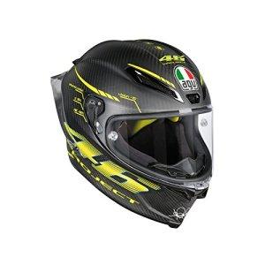 AGV Casque Moto Piste GP R E2205Top pLK, Matt Carbon, L