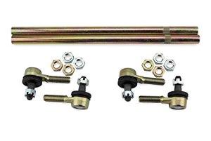 All Balls Kit de barre de voie avec 4 têtes de barre de direction et 2 barres de rechange, compatible avec Honda TRX 300 EX