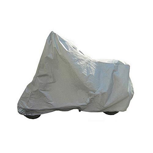 Ballylelly Protection complète Moto Couvre Anti UV étanche à la poussière étanche à la Pluie Couvrant Moto Respirant Capuche Tente intérieure en Plein air