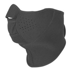 Büse Protection en néoprène pour Le Cou et Le Visage L/XL Noir