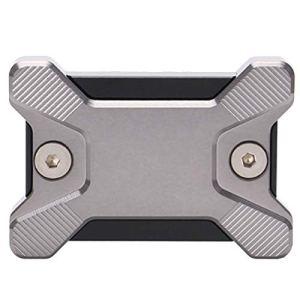 CUHAWUDBA Couvercle de RéServoir de Liquide de Frein Avant de Moto en Aluminium CNC Accessoires de Moto pour PCX 150 125 Gris