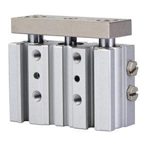 Cylindre MGPM12-10Z, Cylindre mince MGPM12-10Z avec composants pneumatiques à tige trois Ax1s Trois