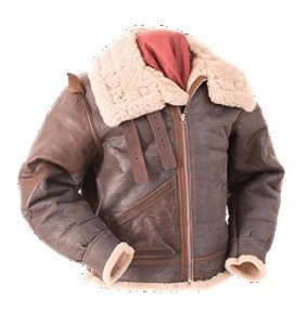 Eastman Leather – Blouson – Parka – Homme – Marron –