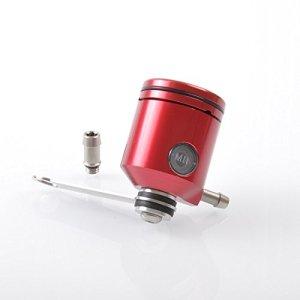 En Aluminium anodisé Réservoir à liquide de frein Rouge Grand format
