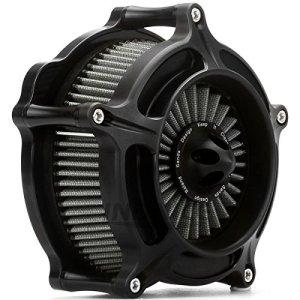 Filtre noir filtre d'admission de filtre à air de turbine pour Harley Sportster 1200 883 Forty Eight 91-19