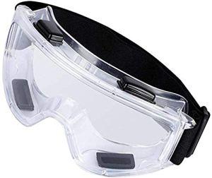Gaojian Haute définition Lunettes de sécurité-Lens Translucide complètement étanche, Lunettes Fog Déversement Saliva pour la santé de défense bactérienne