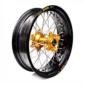 Haan Wheels-61789 : roue complète Haan Wheels Bague Noir 17-5,50 moyeu 16010 1 Or/2/3