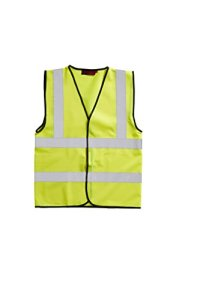 High Viz Vest 2 Band And Brace – Yellow 3XLarge