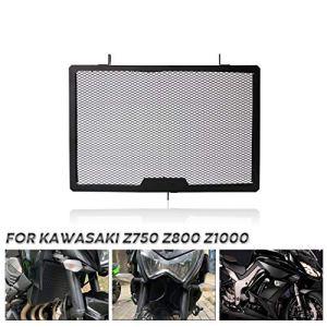 JIANGNANCHUN Couvercle de Protection de radiateur Couvercle de Protection de calandre Compatible avec Kawasaki Z750 Z800 Z1000 (Color : Black)