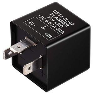 Kinstecks 3Pin Clignotant Relais 12 V Indicateurs De Moto LED Lumière Clignotant pour Moto Indicateurs LED Clignotant Lumière