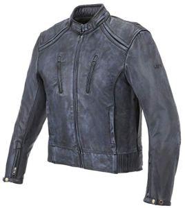 LW826 – Veste de Moto Scrambler Couleur Negro Taille L