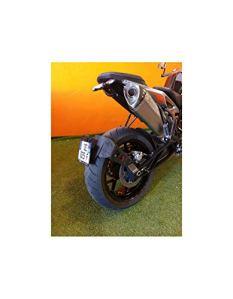 Motodak Support de Plaque Access Design Ras de Roue Noir KTM Duke 790