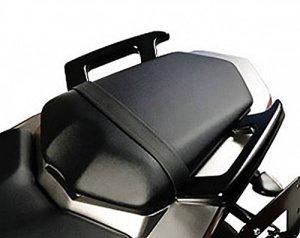 MotorbikeComponents, Poignées arrière pour passager, noir–Yamaha FZ12013