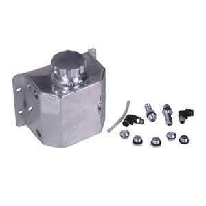 Onewell Récupérateur d'huile moteur universel en alliage d'aluminium poli 1 l