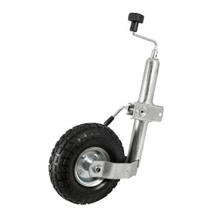 Roue Jockey Gonflable 260mm + Bride Fixation 48mm