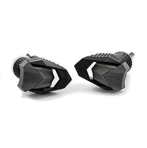 Roulettes de protection Moteur Puig R12 Kawasaki Z 800 2013-2015 noir Crashpads