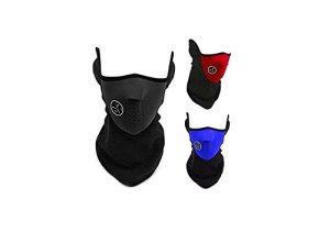 Safeinu Protection thermique pour le visage et le cou, adaptée à la moto, au vélo, au snowboard, au ski et aux sports d'hiver