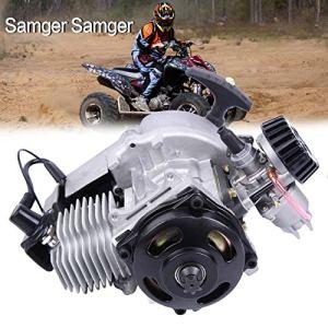 Samger 49cc 2 temps moteur de démarrage de moteur de traction de l'air refroidi pour mini-scooter de vélo de vélo de saleté de vélo de poche