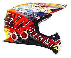 Suomy Casque Moto Cross MR Jump, Multicolore (Shots Orange), M