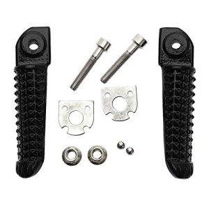 Aluminium Pied arrière Pegs Repose-pieds en forme pour Yamaha YZF R6 1999-2012, YZF R6S 2003-2008 05 06