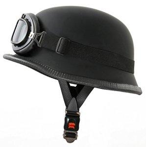 ATO-Helme wH1 casque de moto noir mat stahlhelm de lunettes à 62 cm taille XXL