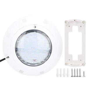 Aufee La Piscine de LED RVB, la Piscine sous-Marine légère de Couleur Blanche d'AC12V 40W 360 LED Allume Le Changement Multicolore
