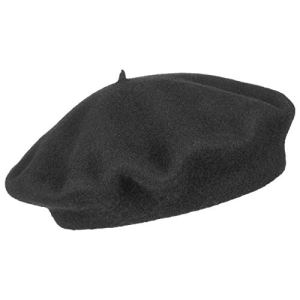 Beret Basque berets basques berets (58 cm – noir)