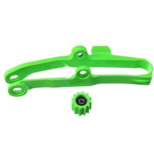 CHIMAKA Curseur Vert À Chaîne Avec Rouleau Inférieur Pour Kawasaki KX250F 06-16 KX450F 06-15 Pièces neuves