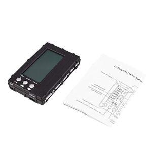 Équilibreur de Batterie 3en1 LiPo/Life 2-6s Équilibrage du déchargeur Testeur de Compteur de Tension Écran LCD Registre Connecteur JST pour modèle RC-Noir (BCVBFGCXVB)