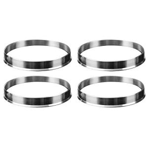 KF-WHEEL SPACER 4 X Hub Universel Aluminium Centric Bague Roue Spacer 74.1mm O/D 72.6mm I/D