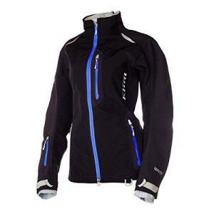 Klim Alpine Parka Women's Ski Snowmobile Jacket – Black / Blue / Large by Klim