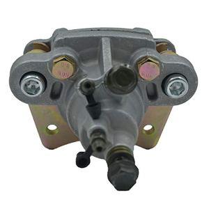 Les pièces Assemblage de moto pompe à étrier de frein hydraulique à disque arrière avec plaquettes for Polaris Sportsman 400 450 500 600 700 800 2003-2009 (Color : Noir)