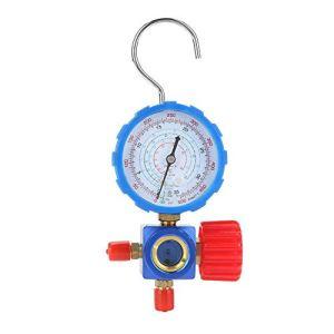 Manomètre Manomètre et vanne 500 psi 35 kgf/cm² avec miroir visuel