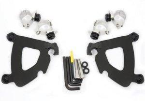 Memphis Shades Trigger Lock Mount Kit for Gauntlet Fairing – Black by Memphis Shades