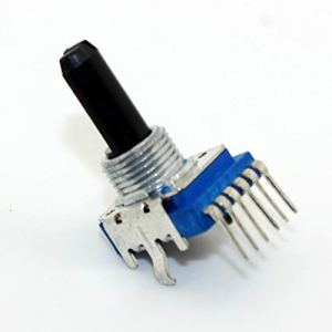 NO LOGO LSB-Shock Absorber, 1pc 6 Broches Dual Channel Mixer Audio 103 B10K RK1114GH Potentiometer 10K 50K (Taille : 10K Ohm)