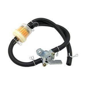 Robinet d'essence universel pour robinet d'essence Robinet d'essence pour robinet d'essence pour réservoirs de carburant de moteur à essence de générateur (noir) Noir