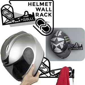 Support mural casque moto et vélo helmet