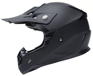 YEMA YM-915 Casque Motocross Moto-Noir-S