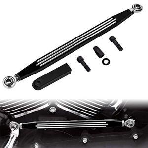 CICMOD Moto CNC Décalage Levier de Changement de Vitesse Shift Linkage Levier Aluminium pour Harley Softail Dyna Road King Street Glide 1980-2018