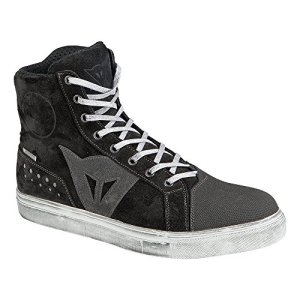 Dainese-STREET BIKER D-WP Chaussures, Noir/Anthracite, Taille 42