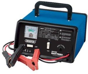 Draper 20487Chargeur de batterie 6/12V 5.6A