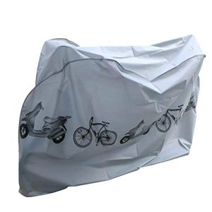 Housse Vélo Housse de Protection Vélo,Nakeey Housse pour Vélo Imperméable Etanche Couverture de Vélo/Bicyclette/Bike/Moto Pluie de Poussiere de Neige (Longueur 210cm)