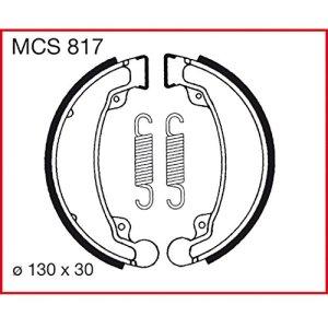Machoires de freins Lucas MCS817 pour Daelim NS 125 SG125F   Daelim VC 125 Advance VC125F   Daelim VL 125 Daystar   Daelim VL 125 Daystar VL125F   Daelim VL 125 Daystar Classic   Daelim VL 125 Dayst