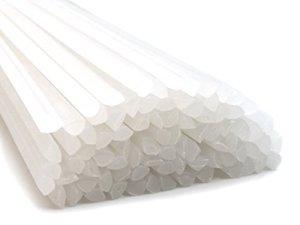 Plastique baguettes de soudure PE-HD Naturel 4mm Triangulaire 25 Barres HDPE