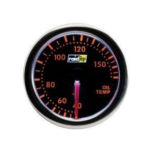 Raid HP 660254 Öltemperaturanzeige, Zusatzinstrument Night Flight Rot