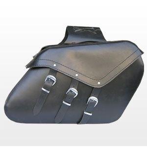 SACOCHE EN CUIR MOTO CAVALERIE CUSTOM BIKE NEUF SB-115